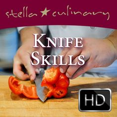 Awesome website with short video tutorials on everything from how to hold a knife to cutting produce. (Website has tons of other cooking videos too.)