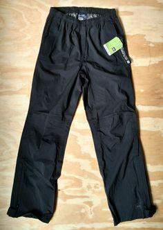 6c45215a0d76 NWT REI Kids Ultra Light Waterproof Windproof Black Rain Pants Sz L14-16  NEW  REI  OutdoorHikingSport  Everyday. kdkshop · Athletic Wear