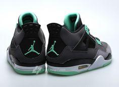 competitive price d343e 895e5 Air Jordan 4 Green Glow