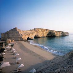 Shangri-La's Barr Al Jissah Resort | Oman (via thecoolhunter)    kThis post has 34 notes   tThis was posted 4 hours ago  zThis has been tagged with oman, musqat, resort, hotel, beach, middle east, arabic peninsula, travel, wanderlust, landscape, Shangri-La, Barr Al Jissah,   RHttp://travelingcolors.tumblr.com