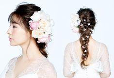 25ans エレ ブロガー 2ch 13 25ans 2ch 12 エレ女 5ちゃん 25ans エレブロガー 2ch ヴァンサンカン 2ちゃんねる 小田切ヒロ流 ブライダルヘアメイクの掟 Hair Styleピンクの小花が可憐に舞うフェアリーのようなスタイル Sideサイドにはたっぷりとピンクの生花と白いコサージュをバランスよく飾り花嫁ならではのロマンティックな雰囲気にふん
