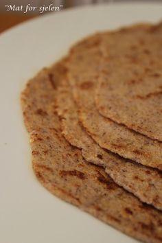Oppskrift - Lavkarbo tortillalefser