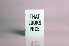 visualgraphc:  That Looks Nice by Dario Luca Utichi