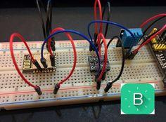 ESP8266-12 blynk  wireless temperature e humidity DHT 11 sensor