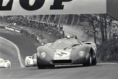 ford P68  old school racing