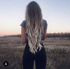 Hair, ombre, grey