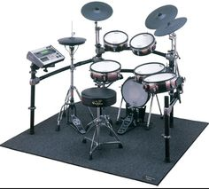 One more electric drum set