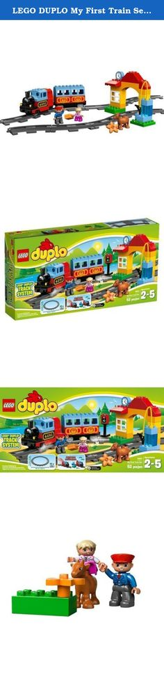 82eca0bc947 LEGO DUPLO My First Train Set  Model 10507 Load the figures aboard the