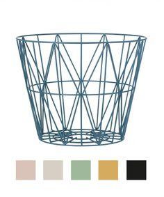 LYS VINTAGE | Metallkorb Wire Basket Medium | Shop
