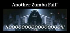 A long time ago . . . In a galaxy far far away . . . I was so bad at Zumba one Sunday I was asked to leave the Dark Side . . . ow.ly/DagVR