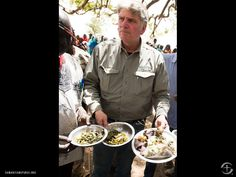 Here Franklin Graham shows cooked bark, leaves and roots - - - the only food sources - - - that the people in the Nuba Mountains of South Sudan have available to eat. Franklin Graham, Roots, Leaves, Eat, Mountains, Cooking, People, Kitchen, People Illustration