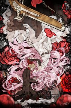 Fanart From Pixiv, Poisoned Apple & Cinderella, luz (Nico Nico Singer) Vocaloid, Anime Art Girl, Manga Art, Fanart, Anime Couples Manga, Illustration, Art For Art Sake, Japanese Artists, Anime Style
