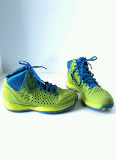 8eee3c88bcb Extra Off Coupon So Cheap Adidas Basketball Shoes Derrick D Rose Fresh  Prince Green Blue Youth Size