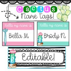 33 best desk name tags images classroom decor future classroom rh pinterest com