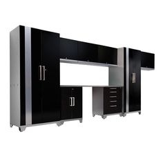 NewAge Performance 36670 Plus 9 Piece Cabinetry Set - Black  $2,120.99