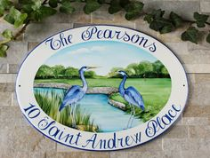 Do you want personalize your home? With a custom sign is possible! See more here: www.etsy.com/shop/DipintoAdArte