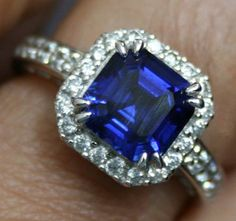 Yogo sapphire engagement ring. A true piece of Montana history :) love this