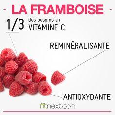 Riche en fibres, vitamine C et pauvre en sucres, la framboise est une baie à consommer sans hésiter :) #berries #freshfruits
