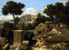 Paesaggio con san Giovanni a Patmos