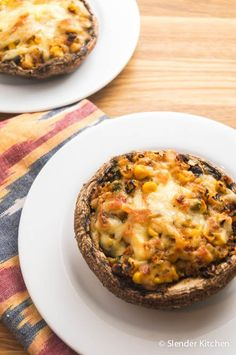 Looking for a healthy lunch idea? These simple vegetarian black bean and corn stuffed portabella mushrooms are the perfect healthy option since you can make up a big batch on the weekend and enjoy...