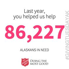 #GivingTuesday #GivingTuesdayAK http://po.st/givingtuesak