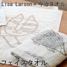 リサ・ラーソン ジャパンシリーズ Lisa+Larson 今治タオル フェイスタオル【楽天市場】