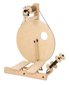 Louet S10DT Spinning Wheel - a beginner's wheel.  This make a great teaching wheel also!