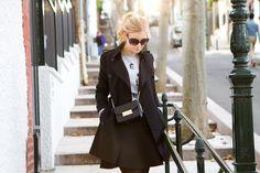 Shirt, Zoe Karssen / trench coat, Burberry / skirt, Hallhuber / bag, Furla // In my ballerines