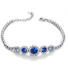 Sapphire Imperial Bracelet – Florence Scovel