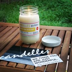 TIP: Candles make the best addition to any outside porch or patio setup. Having a beautiful aroma float through the warm air just makes perfect sense. Plus your neighbors may thank you for it!