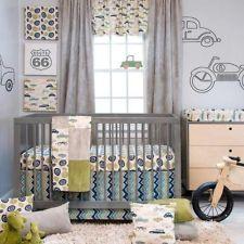 Baby Boy Dirt Bike Crib Bedding