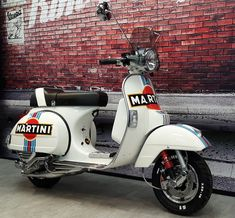 Vespa PX 125 Ron Daley Special Edition no 157