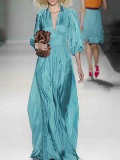 Mint Blue Maxi Dress