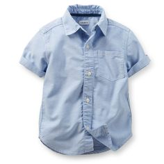Button-Front Shirt | Carters.com