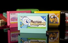 ADVENTURE TIME FAMICOM CARTS: Before you get too excited you should know that none of these games actually exist, these are just labels created for fun by Nightmare Bruce of Ribbon Black. That doesn't mean they aren't totally mathematical though! In addition to the labels he created, Nightmare Bruce came up with concepts for each game that can be found here (carts 1-4) and here (carts 5-8). My favorite game description is for Adventure Time: Picnic of Death Picnic of Death.