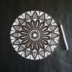 Black is beautiful...☺ Excellente semaine ensoleillée à tous! >>>>>>>>>>>>>>>>>>>>>>>>>>>>>>>> #Mix #mandala #workinprogress #process #mandalart #mandala_sharing #mandalalovers #paper #papercut #paperwork #paperart #papercuttingart #cutfrompaper #handcut #handdrawn #madecoamoi #madeinfrance #dijon #art #artwork #artist #instaart #instaartist #decor #walldecor #wallart #design