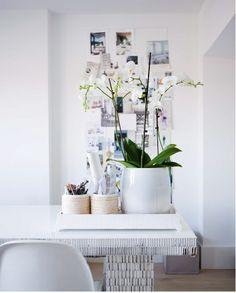 #pintratuin - een heerlijk decor maken samen met de vaas van gerecycled glas en andere decoratie materiaal.