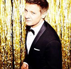 Jeremy Renner at Golden Globe Awards 2015  Jan 11 , 2015