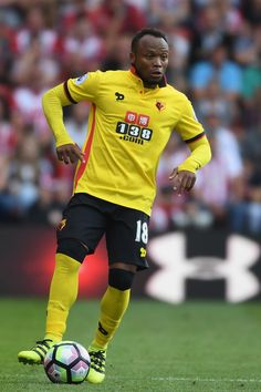 Camilo Zuniga of Watford in action during the Premier League match between…