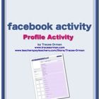 Free: Facebook Character Sketch Profile Activity. A new twist on the character sketch! Students will create a Facebook profile for a character from the novel (includes printable template).