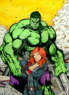 #Hulk #Fan #Art. (Jan/Hulk) By: FnS-Studios. ÅWESOMENESS!!!™ ÅÅÅ+