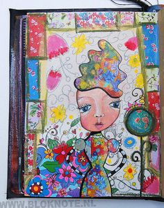 Flower Girl by Marieke Blokland, via Flickr