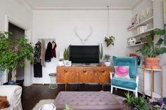 House Tour: An Organic Modern Boho London Flat   Apartment Therapy