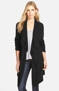 Nordstrom+Drape+Front+Cardigan+available+at+#Nordstrom