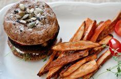 Portobello Burger - 56 Healthier Burger Recipes for Summer