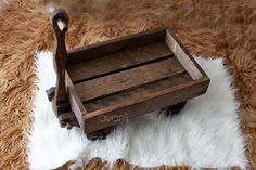 Handcrafted wood wagon Newborn Photography Prop by AvonliCottage, $82.00