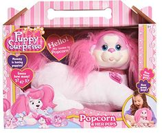 Puppy Surprise Popcorn Plush