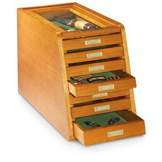 CASTLECREEK Collector's Cabinet Display Case, Walnut