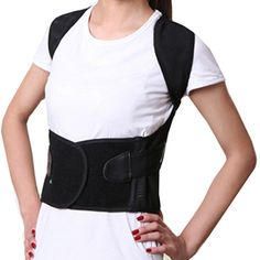 Tcare Unisex Back Shoulder Posture Corrector Support Straighten Brace Belt Orthopaedic Adjustable Health Care