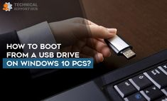 Hi Everyone, Please let me know How to Boot from a USB Drive on Windows 10 PCs? I tried many times but unable to work it. Help me. Contact Help, 10 Points, Old Computers, Usb Drive, Inspire Others, Operating System, Facebook Sign Up, Windows 10, Times